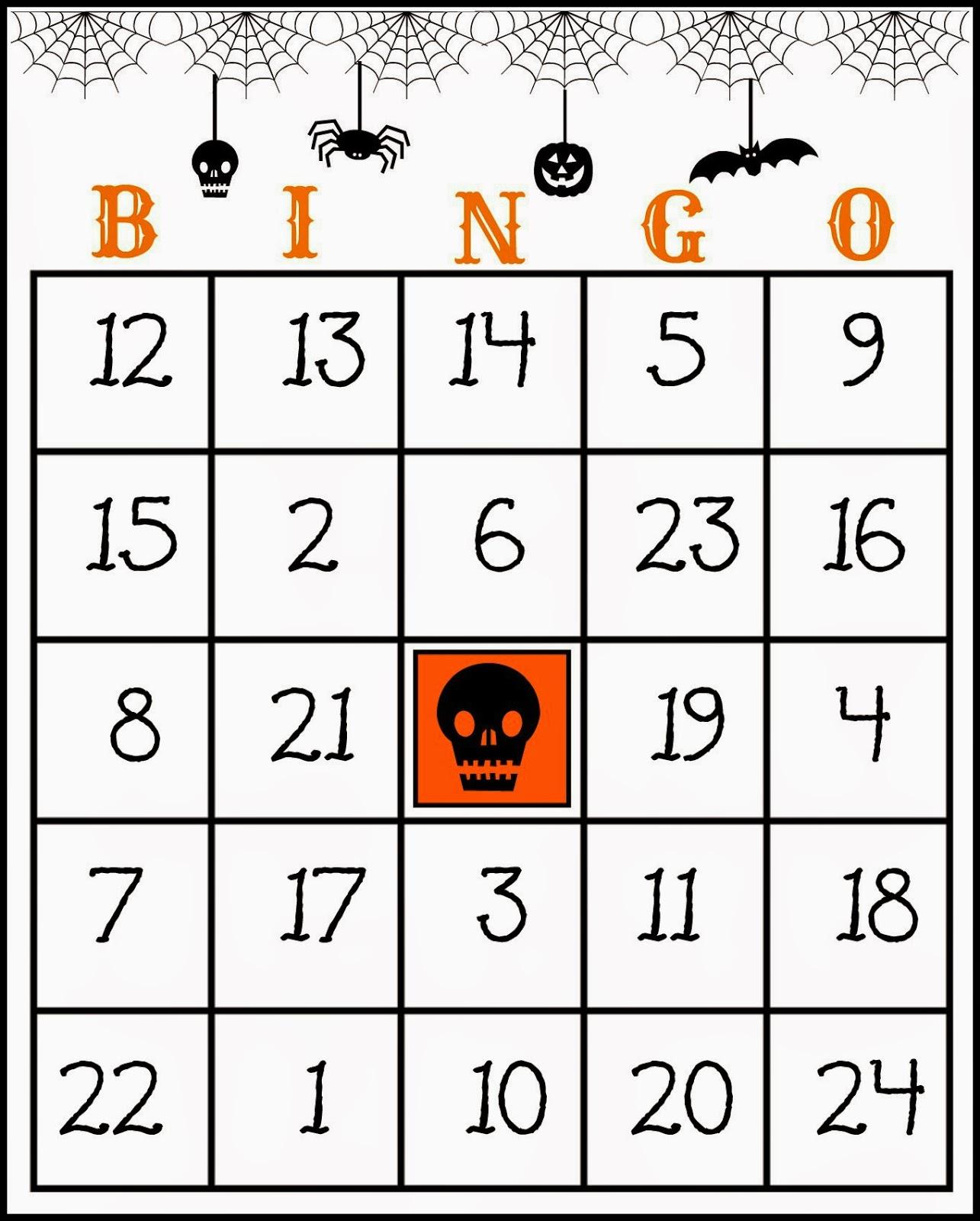 Crafty In Crosby Free Printable Halloween Bingo Game