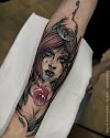 Best Anime Girl Tattoo Design For Women