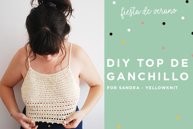 diy top ganchillo