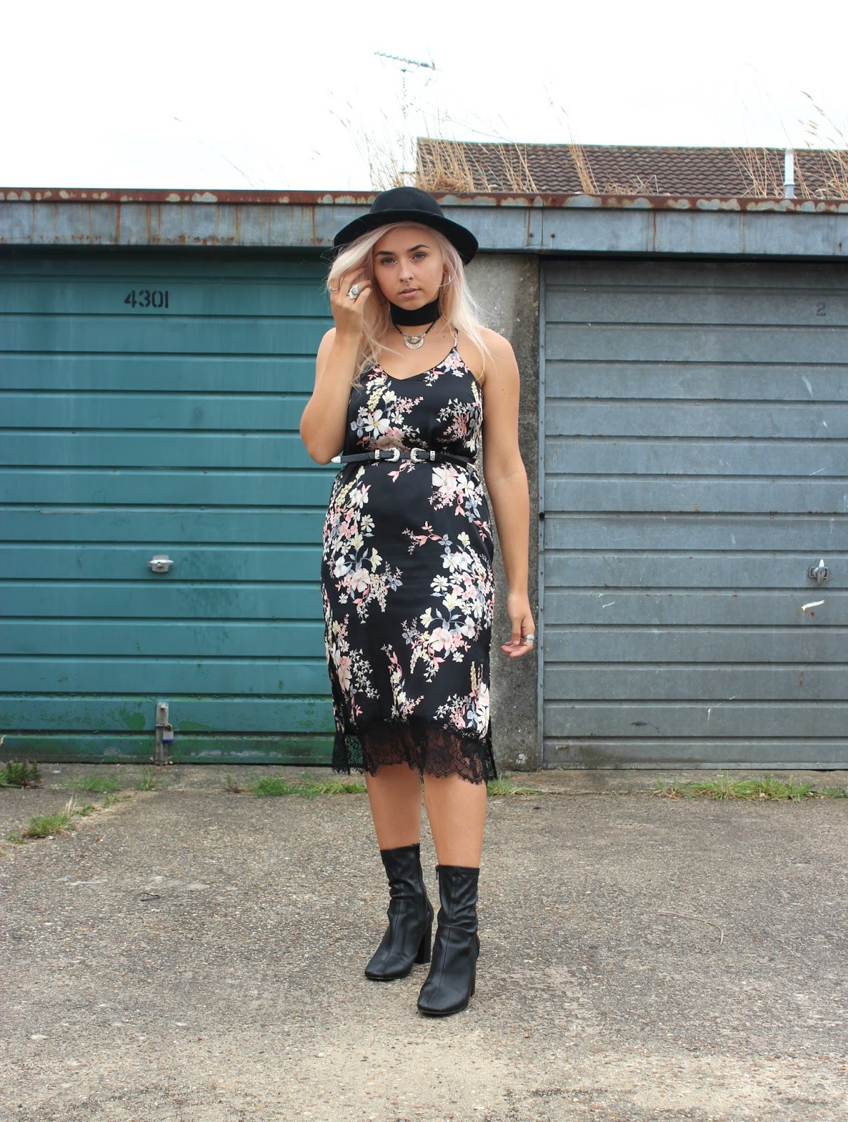 Floral Slip Dress from Primark
