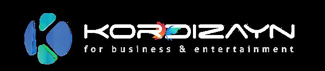 Kordizayn Logo Beyaz