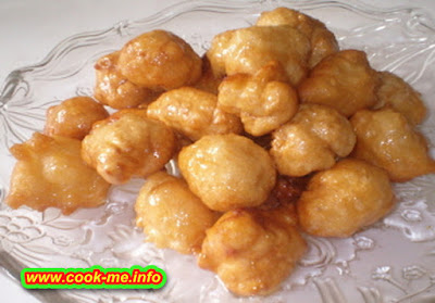Dough Balls in Syrup
