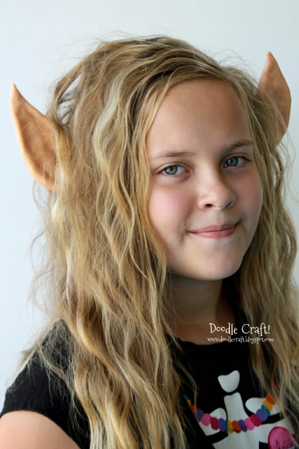 Be an Elven queen or a Christmas elf with this fun ear headband.
