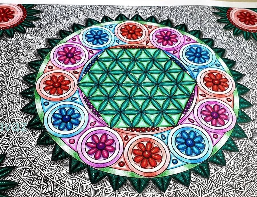 10-3D-Effect-Vanita-Vaz-Mandala-and-Doodle-www-designstack-co