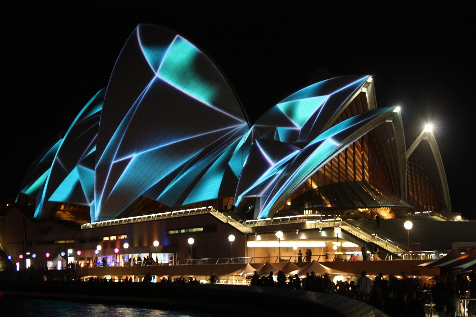 Sydney city and suburbs sydney opera house vivid for House lights
