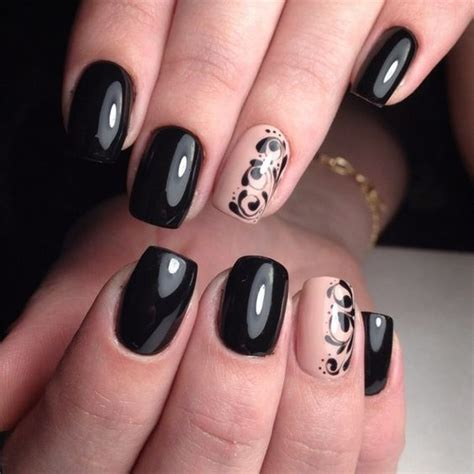 Top 100+ Black Nail Art Ideas