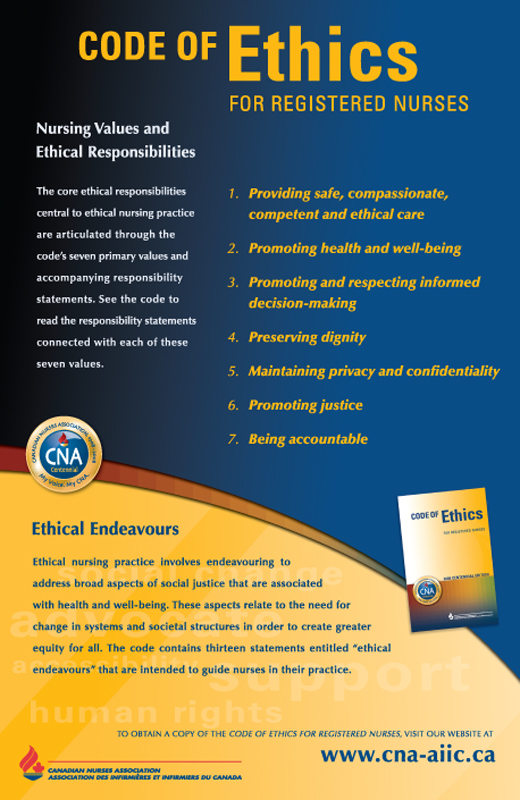 Ethics: The Nursing Shortage and Ethics: Up Front and Personal