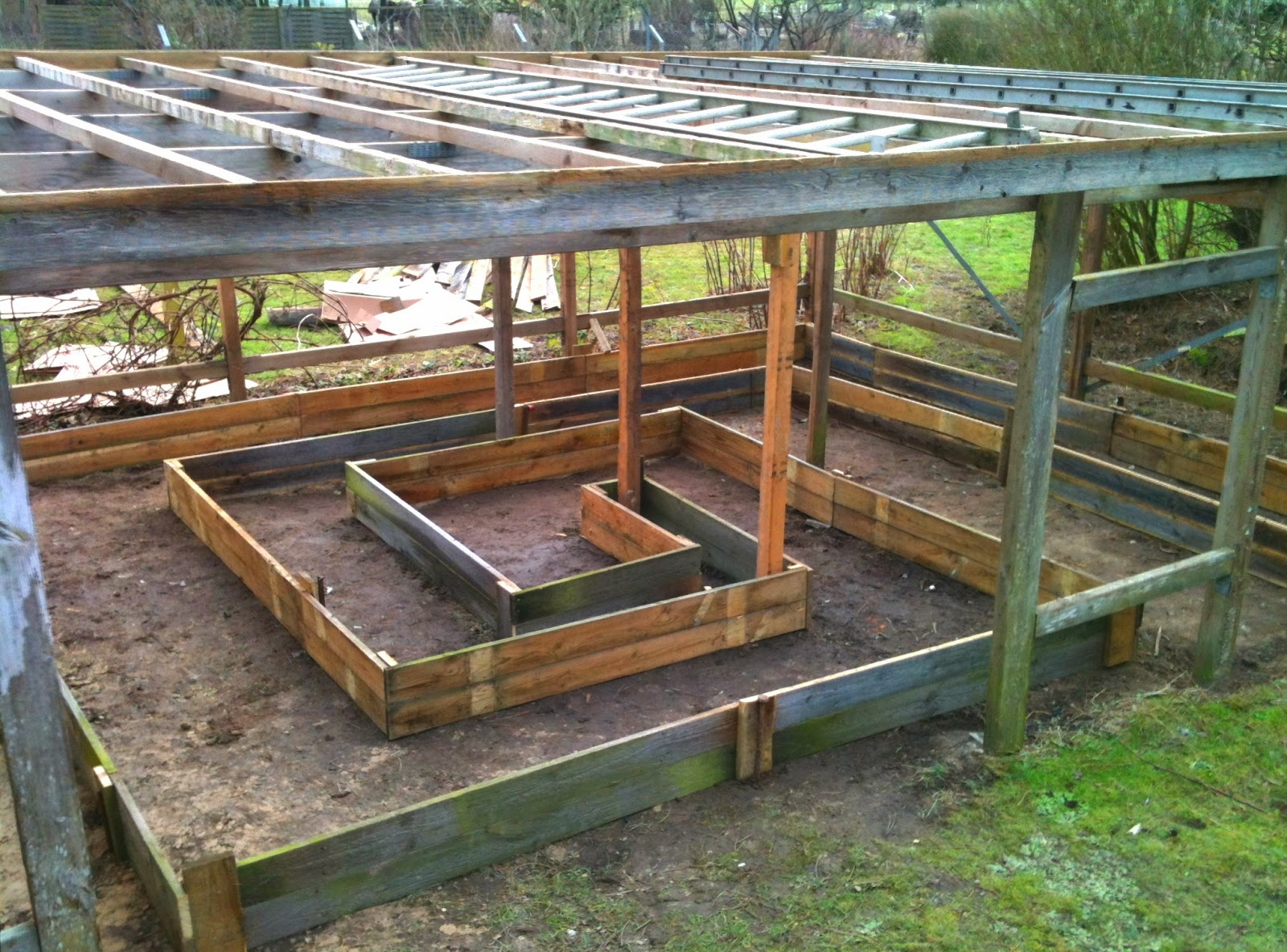 Chop Wood Carry Water Plant Seeds: The Spiral Greenhouse
