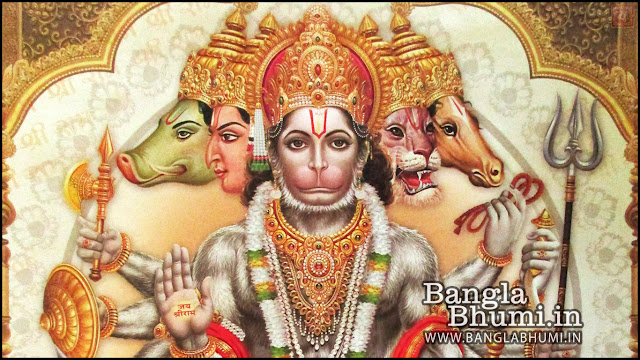 Mahabali Shri Hanuman Indian God 1366x768 Wide Wallpaper