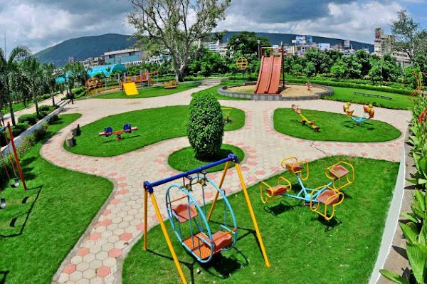 Vizag Central Park Photos | Vuda City Central Park In Vizag | Hi Vizag