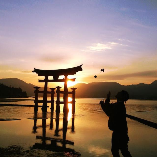 Kendama World Cup in Hatsukaichi City, Hiroshima Pref.