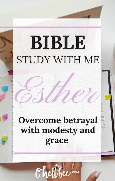 Bible study for women | Study the book of Esther with me! This book shows how God rewards obedience, wisdom, and bravery. #bible #biblestudy