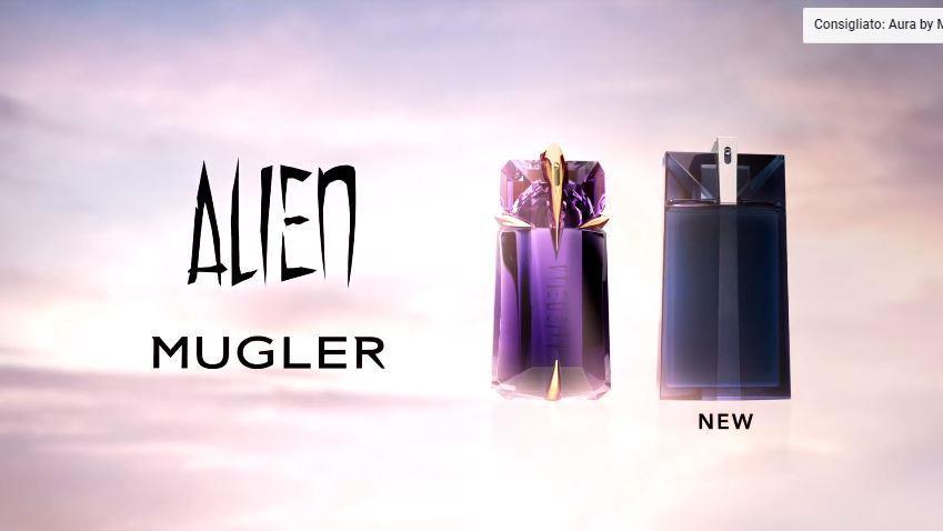 Canzone Thierry Mugler Pubblicità Nuovo profumo Alien con modella e modello , Spot Maggio 2018