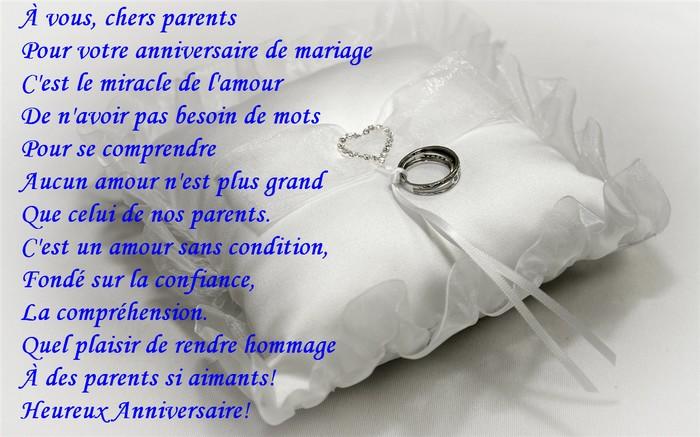 anniversaire de mariage hommage