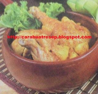 Foto Ayam Masak Nanas