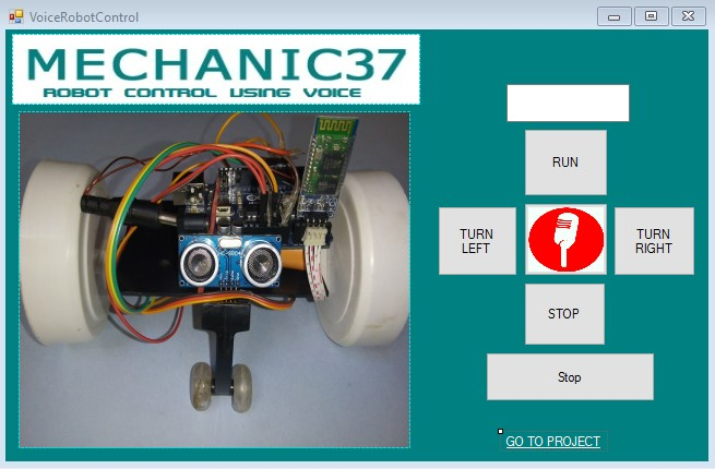 Voice Command Software For Arduino
