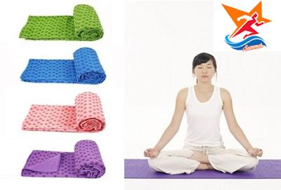 Khăn trải thẩm tập yoga Kim Thành
