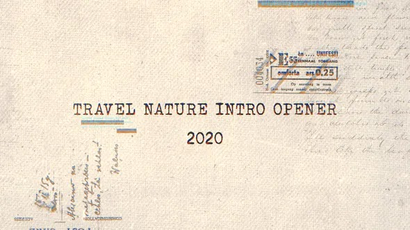 Travel Nature Intro Opener 28280056