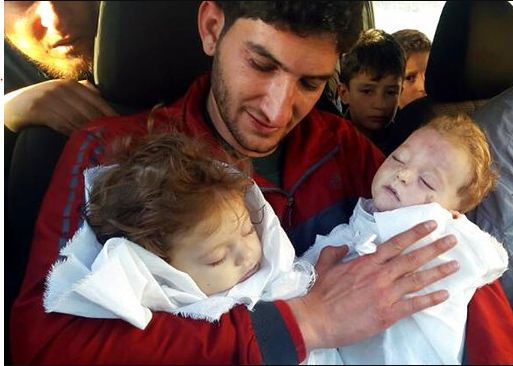 Father Says Goodbye to 9-Month Old Twins After Chemical Weapon Attack in Syria! Read the Heartbreaking Story Here!