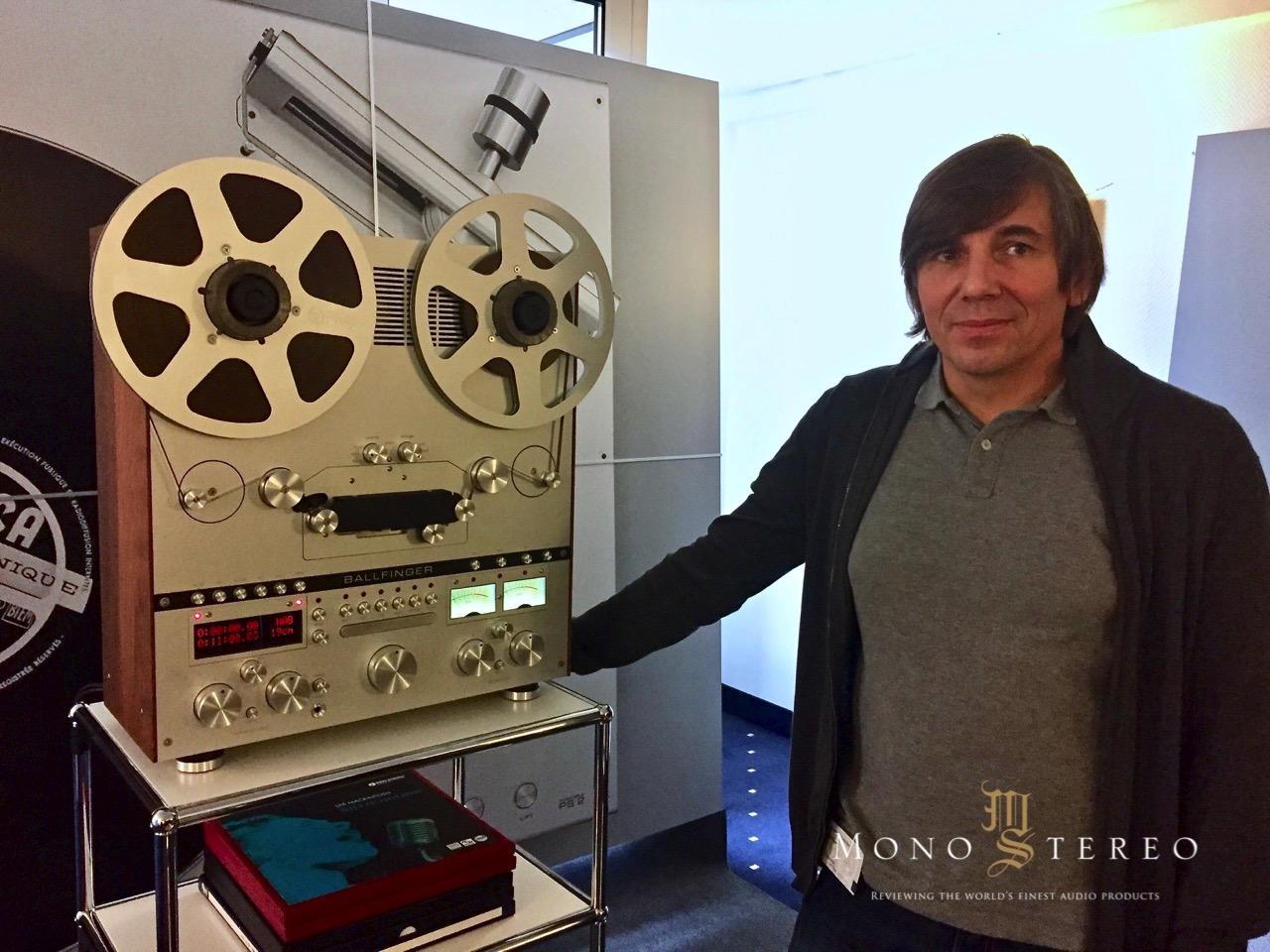 Mono And Stereo High End Audio Magazine New Ballfinger M 063 Reel