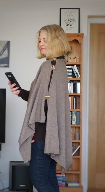 image showing poncho outfit