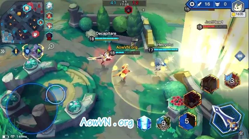 AowVN.org moba anime%2B%252814%2529 - [ HOT ] Moba Anime 2 - Light X Shadow | Android IOS - Game MOBA cực hay , đồ họa đẹp