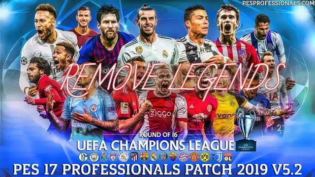 Remove Classic Teams From Patch Professional V5 2 - PES 2017