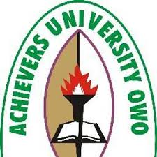 2017/18 Achievers University UTME/DE Admission Screening Form