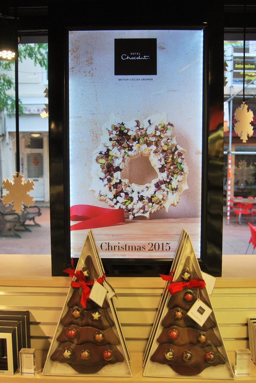 Inside Brighton shop, Hotel Chocolat Christmas Cracker Giveaway, photo by Modern Bric a Brac