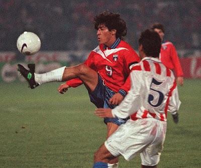 Chile y Paraguay en Clasificatorias a Francia 1998, 20 de julio de 1997