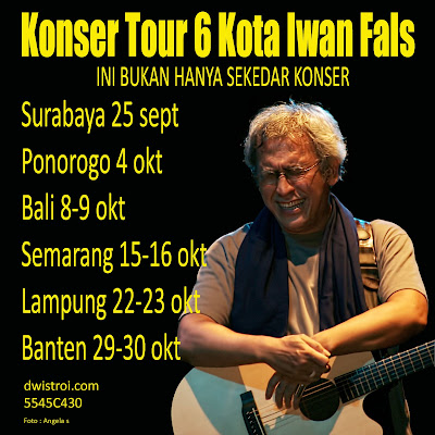 Konser Tour 6 Kota Iwan Fals