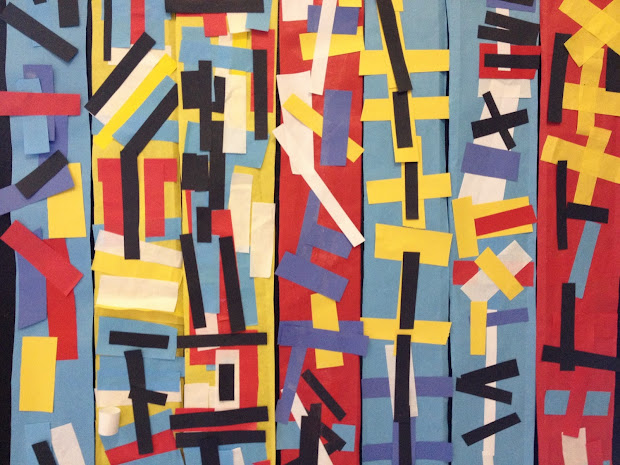 Piet Mondrian Paper Scarves Psd Art