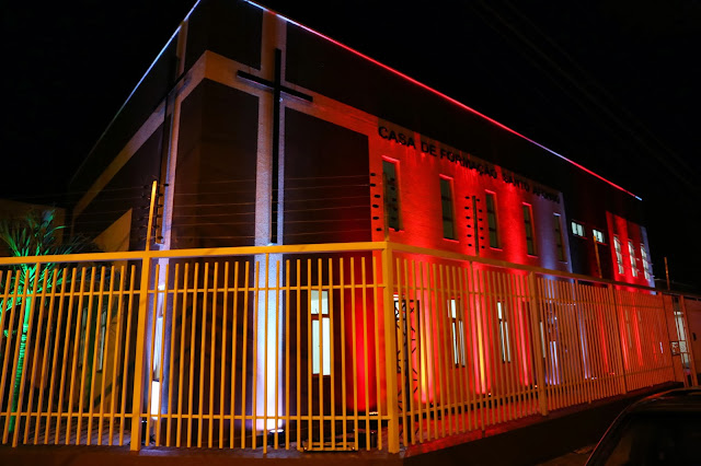 Resultado de imagem para Parquelândia: Casa de Formação Santo Afonso inauguraçao