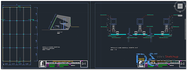 Shelter in AutoCAD