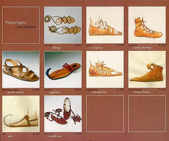 7b4cf4668fb Al igual que otros muchos inventos, objetos y costumbres, la aparición del  zapato data de las civilizaciones antiguas. Entonces, el zapato no sólo se  ...