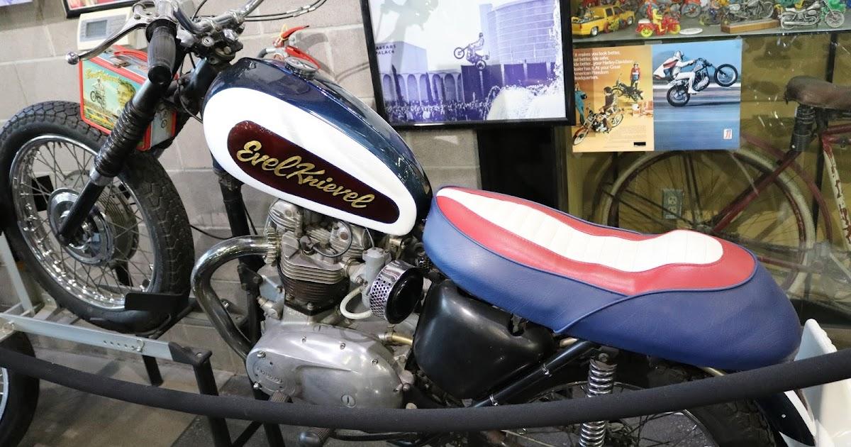 Evel Knievel Bike At Bonham S Las Vegas Moto Auction: OldMotoDude: 1968 Evel Knievel Triumph Back-up Bike For