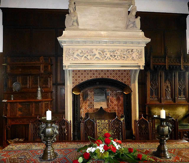 Salão do castelo de Cochem