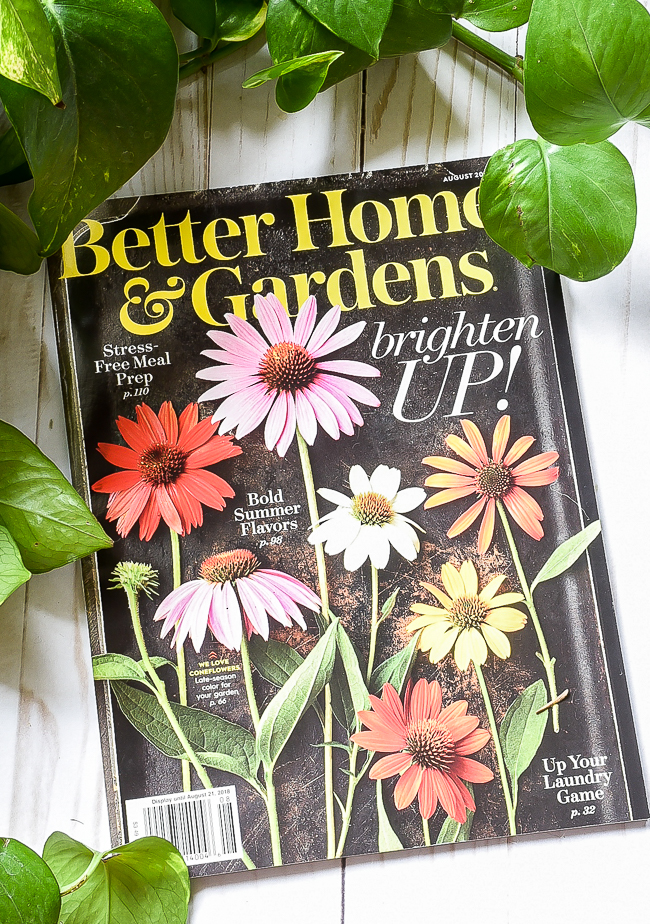 Better Homes and Gardens August 2018 Issue