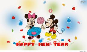 Micky Mouse 2017 New Year