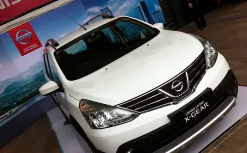 All New Nissan Grand Livina X-Gear Indonesia
