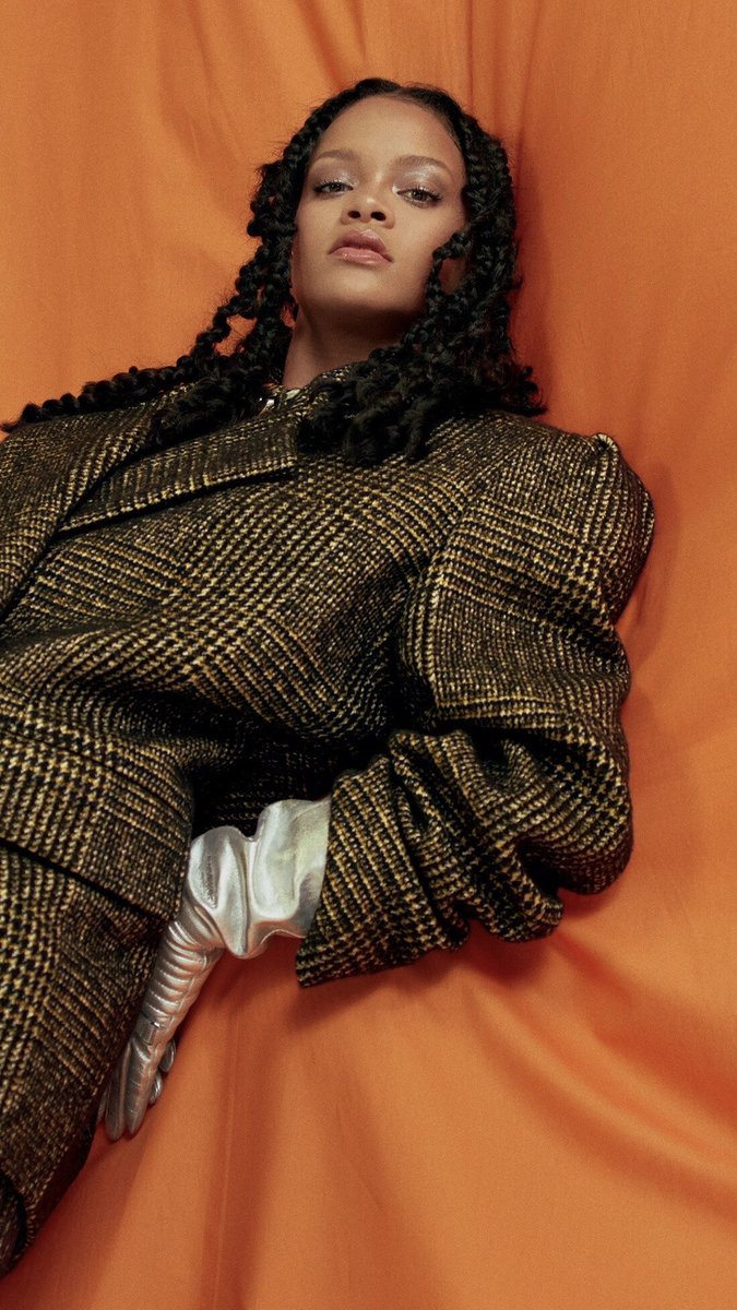 Rihanna for Allure US October 2018