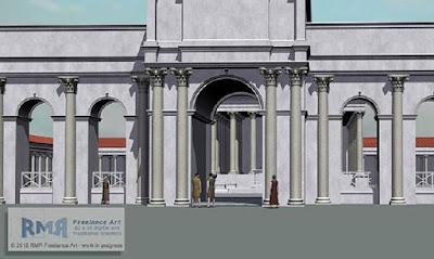Monumental Roman arcade found in Britain