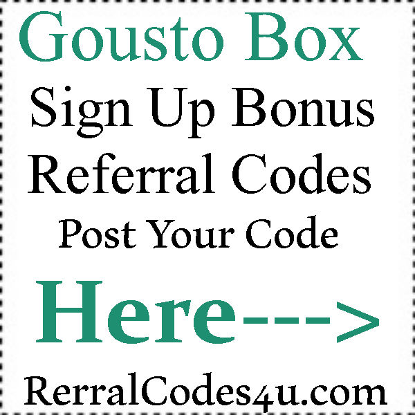 earn money app referral code gousto referral codes 2019 best paying referral codes 2019 8453