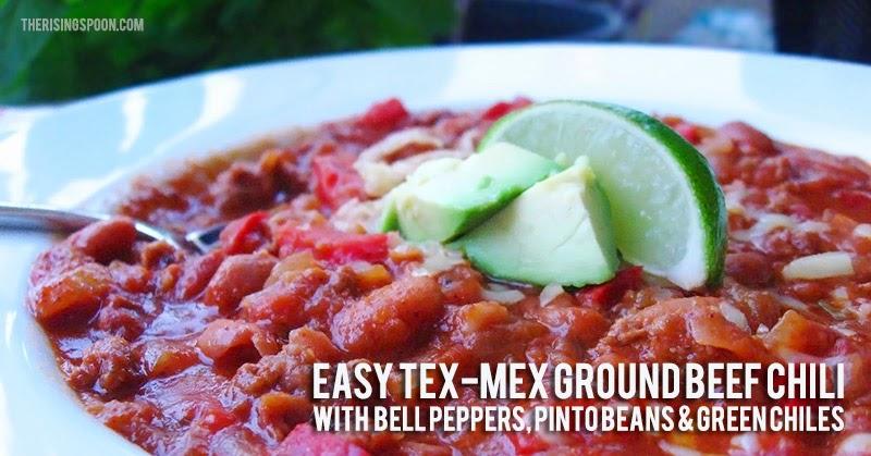 Easy Tex-Mex Grass Fed Beef Chili Recipe