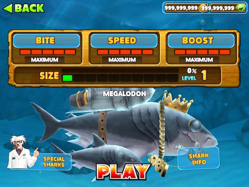 Hungry Shark Apk Mod