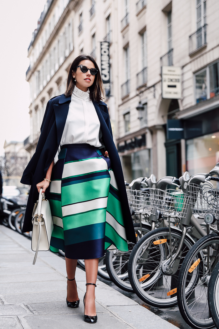 LANVIN STRIPES IN PARIS