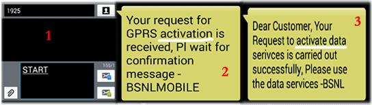 BSNL 3G Activation