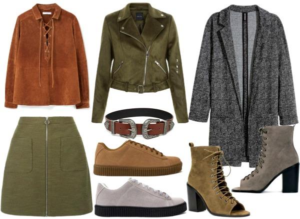Spring 2016 Fashion Wishlist Suede Khaki