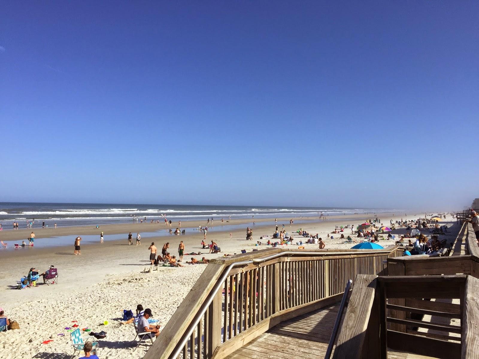 Praia perto de Orlando New Smyrna