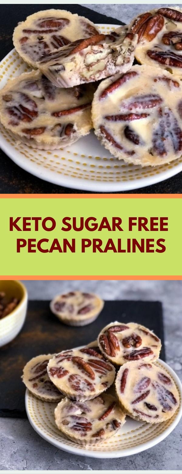Keto Sugar Free Pecan Pralines  #Keto #Sugar #Free #Pecan #Pralines #recipes